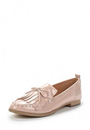 Лоферы Sweet Shoes. Цвет: бежевый