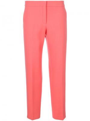 Классические брюки Pringle Of Scotland. Цвет: розовый и фиолетовый