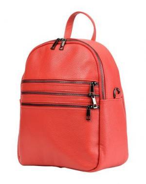 Рюкзаки и сумки на пояс PARENTESI. Цвет: красный