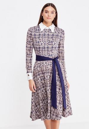 Платье Miss & Missis. Цвет: коричневый