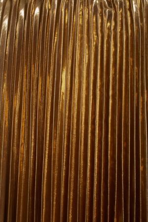 Плиссированная юбка No.21. Цвет: золотой