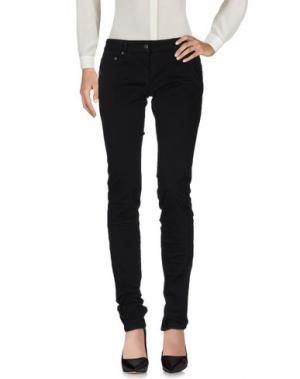 Повседневные брюки DANIELE ALESSANDRINI. Цвет: черный