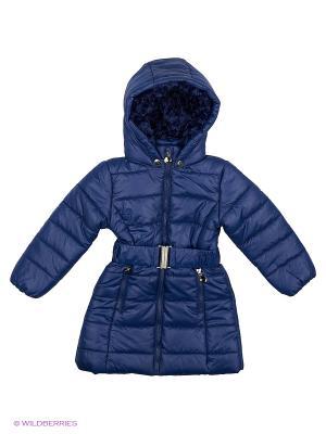 Пальто на синтепоне Modis. Цвет: синий, темно-фиолетовый, черный