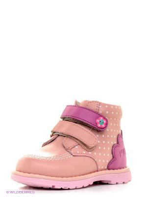 Ботинки Mursu. Цвет: розовый