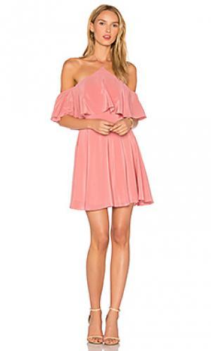 Платье baja Amanda Uprichard. Цвет: сиреневый