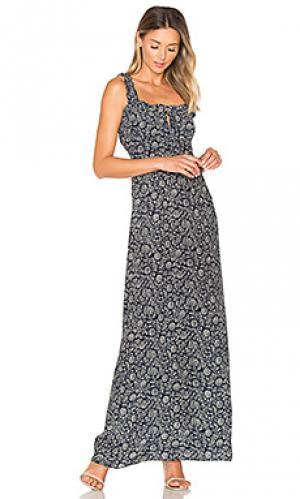 Вечернее платье naomi STONE_COLD_FOX. Цвет: синий