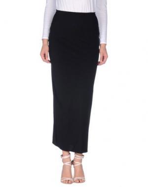Длинная юбка ALMERIA. Цвет: черный