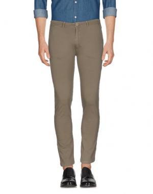 Повседневные брюки ALPHA STUDIO. Цвет: свинцово-серый
