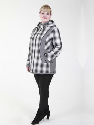 Куртка Ханна VIKO. Цвет: белый, черный
