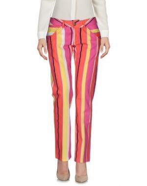 Повседневные брюки PHARD. Цвет: фуксия