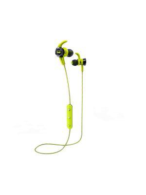 Наушники с микрофоном Monster iSport Victory In-Ear Wireless (Green). Цвет: зеленый