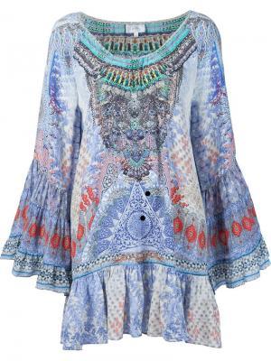 Платье Concubine Camilla. Цвет: синий
