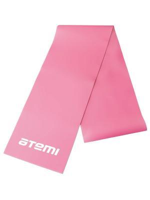 Эспандер-лента 0,4*120*1200 Atemi. Цвет: розовый