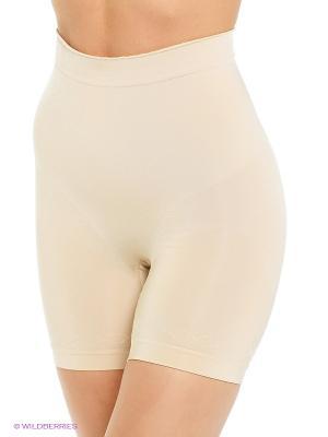 Корректирующие шорты Bodyeffect. Цвет: бежевый
