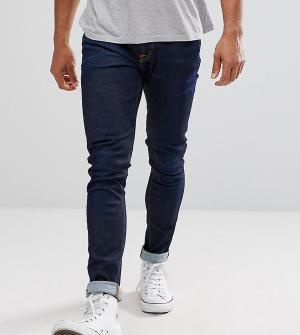 Nudie Jeans Выбеленные зауженные джинсы Co Lin. Цвет: темно-синий