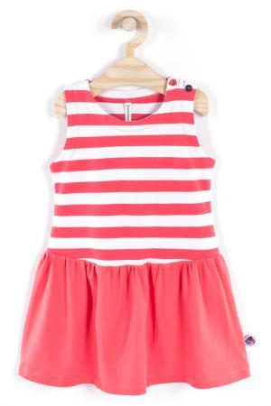 Платье Coccodrillo. Цвет: красный, белый