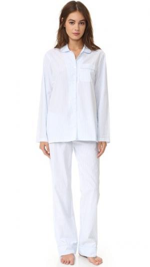 Пижама Jamie Three J NYC. Цвет: синяя меланжевая полоска