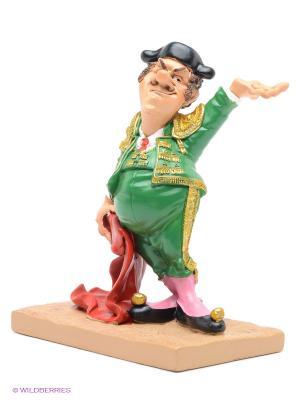 Статуэтка Тореадор The Comical World of Stratford. Цвет: зеленый, бежевый, красный, розовый, черный
