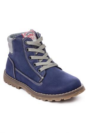 Ботинки PlayToday. Цвет: фиолетовый, серый