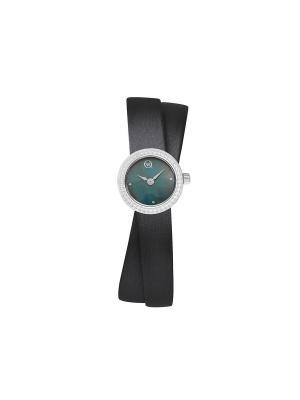 Часы ювелирные коллекция Transformers QWILL. Цвет: черный