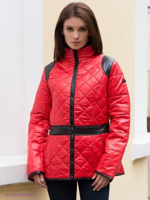 Куртка CONVER. Цвет: красный