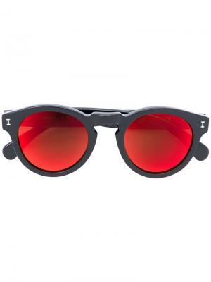 Солнцезащитные очки Leonard 35 Illesteva. Цвет: чёрный