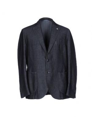 Пиджак L.B.M. 1911. Цвет: стальной серый