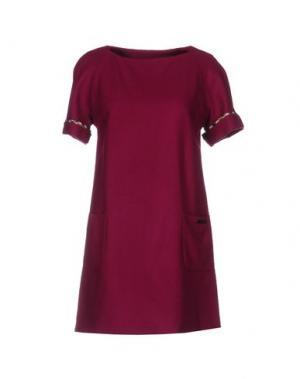 Короткое платье AQUASCUTUM. Цвет: розовато-лиловый