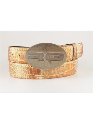 Ремень мужской Sevaro. Цвет: бронзовый, бежевый, золотистый