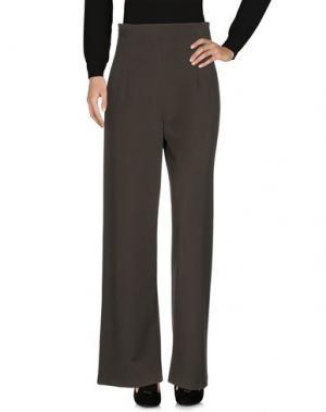 Повседневные брюки LAVINIATURRA. Цвет: зеленый-милитари