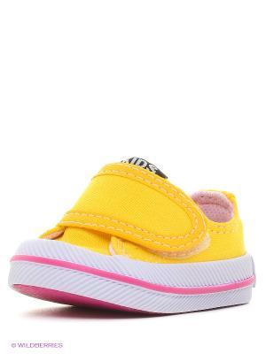Пинетки 4U. Цвет: желтый, розовый