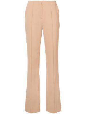 Прямые брюки Dvf Diane Von Furstenberg. Цвет: телесный