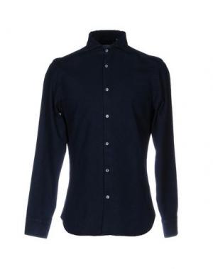 Джинсовая рубашка MICHAEL COAL. Цвет: синий