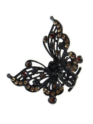 Заколка-краб Infiniti. Цвет: черный, бежевый, коричневый
