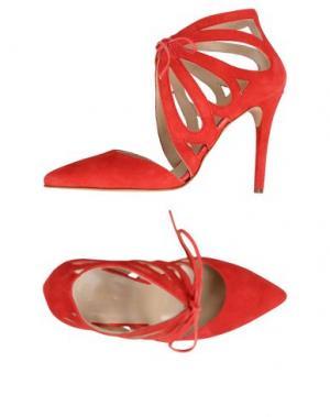 Туфли GEORGE J. LOVE. Цвет: красный