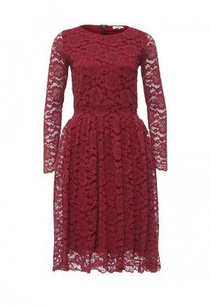 Платье Brigitte Bardot. Цвет: бордовый