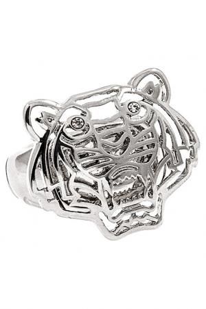Кольцо R DU TEMPS. Цвет: серебряный