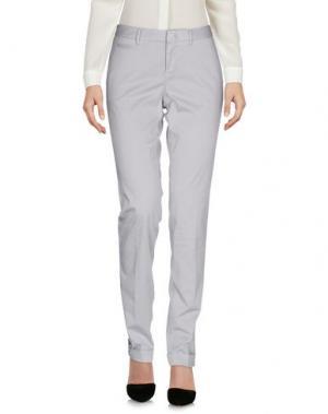 Повседневные брюки PT0W. Цвет: светло-серый