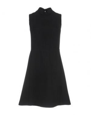 Короткое платье TER ET BANTINE. Цвет: черный