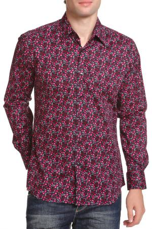 Рубашка Karl Lagerfeld. Цвет: бордо