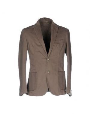 Пиджак BARBATI. Цвет: голубиный серый