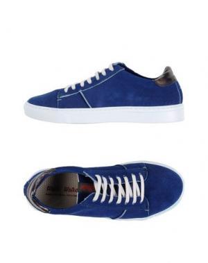 Низкие кеды и кроссовки WALLY WALKER. Цвет: синий