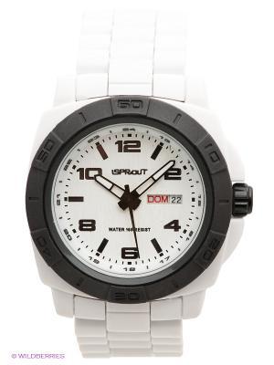 Часы Sprout. Цвет: белый, черный