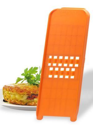 Овощерезка Рёсти CLASSIC блистер Borner. Цвет: оранжевый