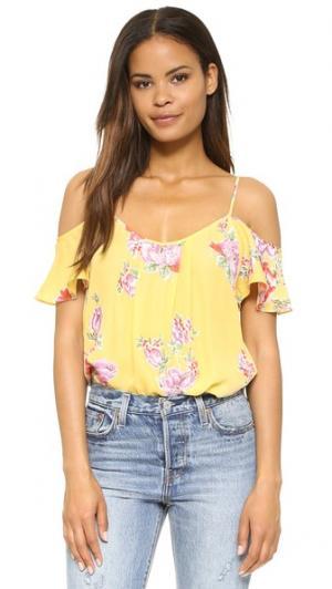 Блуза Adorlee Joie. Цвет: желтый