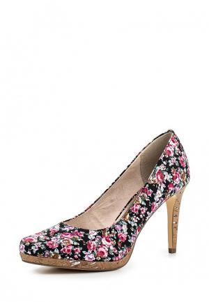 Туфли Tamaris. Цвет: разноцветный