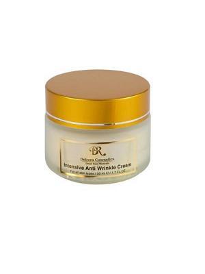Интенсивный крем от морщин с маслом макадамии Debora Cosmetics. Цвет: бежевый