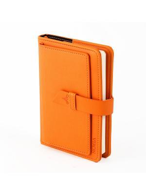 Ежедневник VIRON. Цвет: оранжевый