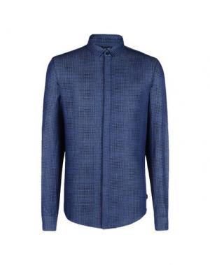 Джинсовая рубашка ARMANI JEANS. Цвет: синий