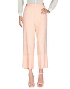 Повседневные брюки SPACE STYLE CONCEPT. Цвет: лососево-розовый